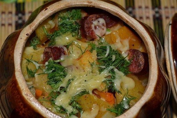 Картофель в горшочках рецепты с фото
